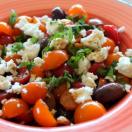 Thumbnail image for Cherry Tomato and Israeli Feta Salad