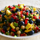 Thumbnail image for Healthy & Delicious Mango Chickpea Kale Farro Salad (Vegan)