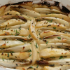 Thumbnail image for Baked Endive and Pears in Blue Cream Sauce for Fat Sunday #SundaySupper