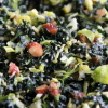 Thumbnail image for Kale and Brussels Sprout Salad with Dates, Parmesan and Smoked Almonds
