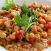 Thumbnail image for Chickpea Chile Soup with Greens and Grains for a Meatless #SundaySupper
