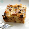Thumbnail image for Breakfast Banana Chocolate Chip Bread Pudding with Leftover Panettone