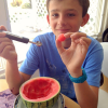 Thumbnail image for How to Eat a Mini Watermelon All By Yourself for National Watermelon Day