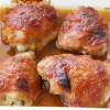 Thumbnail image for Apricot-Lacquered Chicken Thighs (Secret Recipe Club)