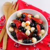 Thumbnail image for Red, White and Blue Fruit and Cheese Salad for a #SundaySupper Picnic
