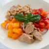 Thumbnail image for Tuna, Tomato, Bean and Basil Salad