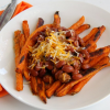 Thumbnail image for Sweet Potato Fries with Chili and Cheese