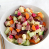 Thumbnail image for Main Dish Pastrami-Swiss Summer Vegetable Salad and the Best Pastrami in the World