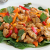 Thumbnail image for Creamy Peanut Chicken Over Greens (Secret Recipe Club)