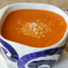 Thumbnail image for Greek Tomato Soup with Orzo (Domatosoupa Me Kritharaki) for Secret Recipe Club