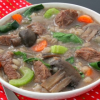 Thumbnail image for Slow Cooker Beef Barley Soup for Easy Holiday Entertaining #SundaySupper