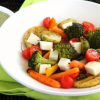 Thumbnail image for Panela Polenta Vegetable Bowl {vegetarian} #GoAutentico