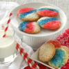 Thumbnail image for Patriotic July 4th Italian Sprinkle Cookies {Secret Recipe Club}