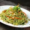 Thumbnail image for Edamame Spaghetti with Kale Cilantro Pesto {gluten-free}