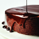 Thumbnail image for Darkest Chocolate Cake with Red Wine Glaze