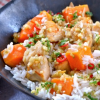 Thumbnail image for 4-Ingredient Sweet Potatoes with Chicken and Lemongrass — What You Want for Dinner
