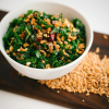 Thumbnail image for Kale and Spelt Berry Salad with Sweet Cranberries and Lemon Dressing