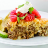 Thumbnail image for Easy Taco Pie (Keto, gluten-free) and a Cookbook #Giveaway