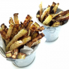 Thumbnail image for Low-Carb Baked Kohlrabi Fries (Vegan)