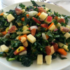 Thumbnail image for Kale Salad with Apples, Carrots, Cheese and Capers #Brunchweek #Giveaway