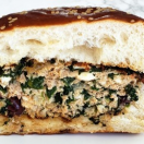 Thumbnail image for Ridiculously Good Turkey Spanakopita Burgers
