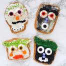 Thumbnail image for Spooky Shortbread Cookies for #HalloweenTreatsWeek (Lemon-Vanilla Flavor)