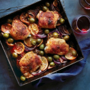Thumbnail image for Roast Chicken Thighs with Meyer Lemon and Smoked Paprika