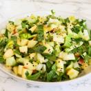Thumbnail image for Lemony Baby Bok Choy, Apple and Miso Salad