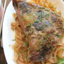 Thumbnail image for 4-Ingredient Slow Cooker Brisket with Onions