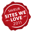 Saveur Sites We Love badge for Shockingly Delicious
