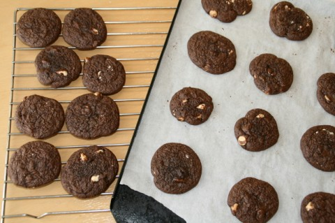 Chocolate Chewy Brownie Cookies