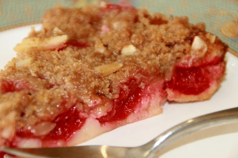 Impossible Cherry-Almond Pie on Shockingly Delicious