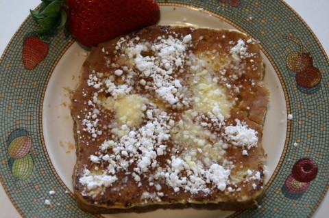 Fiori di Sicilia French Toast on Shockingly Delicious