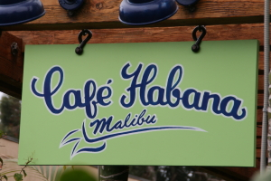 Cafe Habana at The Malibu Lumber Yard