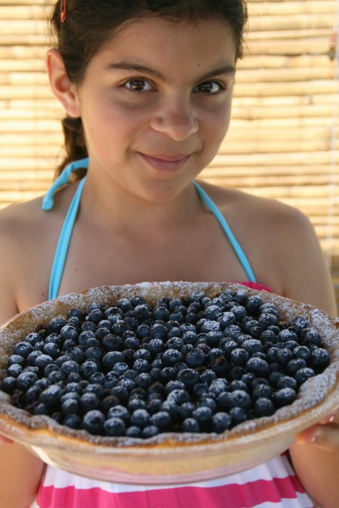 Fresh Blueberry Pie is lightly sweetened and perfumed with lemon, vanilla & cinnamon in a filling cooked stovetop and poured into a blind-baked crust. It's genius!