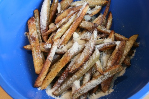 Best Ever Oven Parmesan Fries