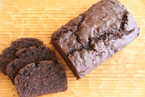Chocolate-Coffee Zucchini Quick Bread
