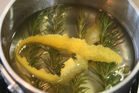 Rosemary-Lemon Shaved Ice