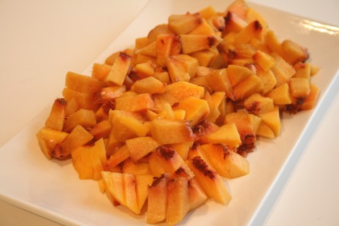 Spiced Fresh Peach Chutney
