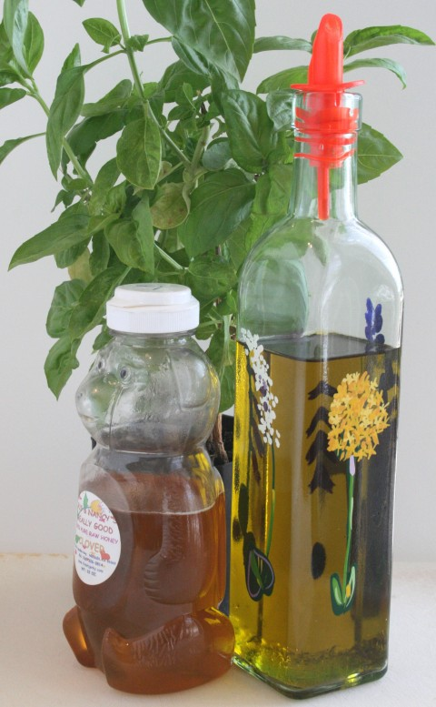 Basil-Honey Dressing