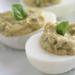 Sweet Basil Deviled Eggs