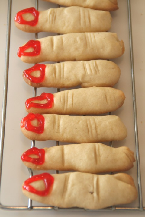 Witches' Digits -- Disgusting but Delicious Halloween Cookies