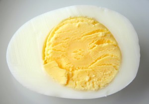 Hard-cooked egg