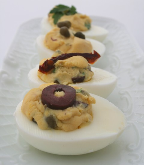 Mediterranean Deviled Eggs — Perfect Appetizer — Shockingly ...