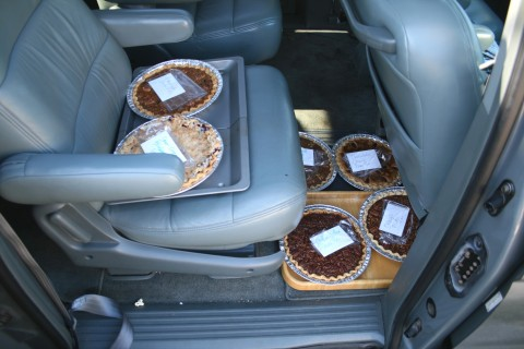 Blue Ribbon Coffee-Toffee Pecan Pie, from the pie lady of Malibu