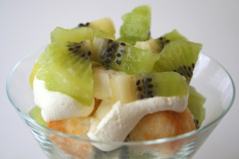 Kiwi Lemon Mousse on Shockingly Delicious
