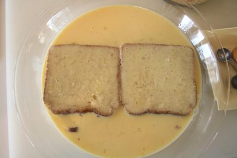 Eggnog French Toast -- 'Tis the Season!