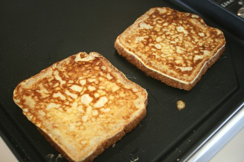 Eggnog French Toast -- 'Tis the Season!
