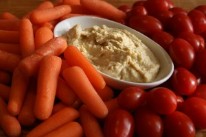 Lower-Fat Hummus from Shockinglydelicious.com