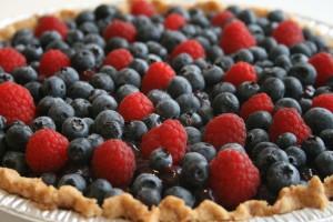 Fresh Blueberry Pie from Shockinglydelicious.com